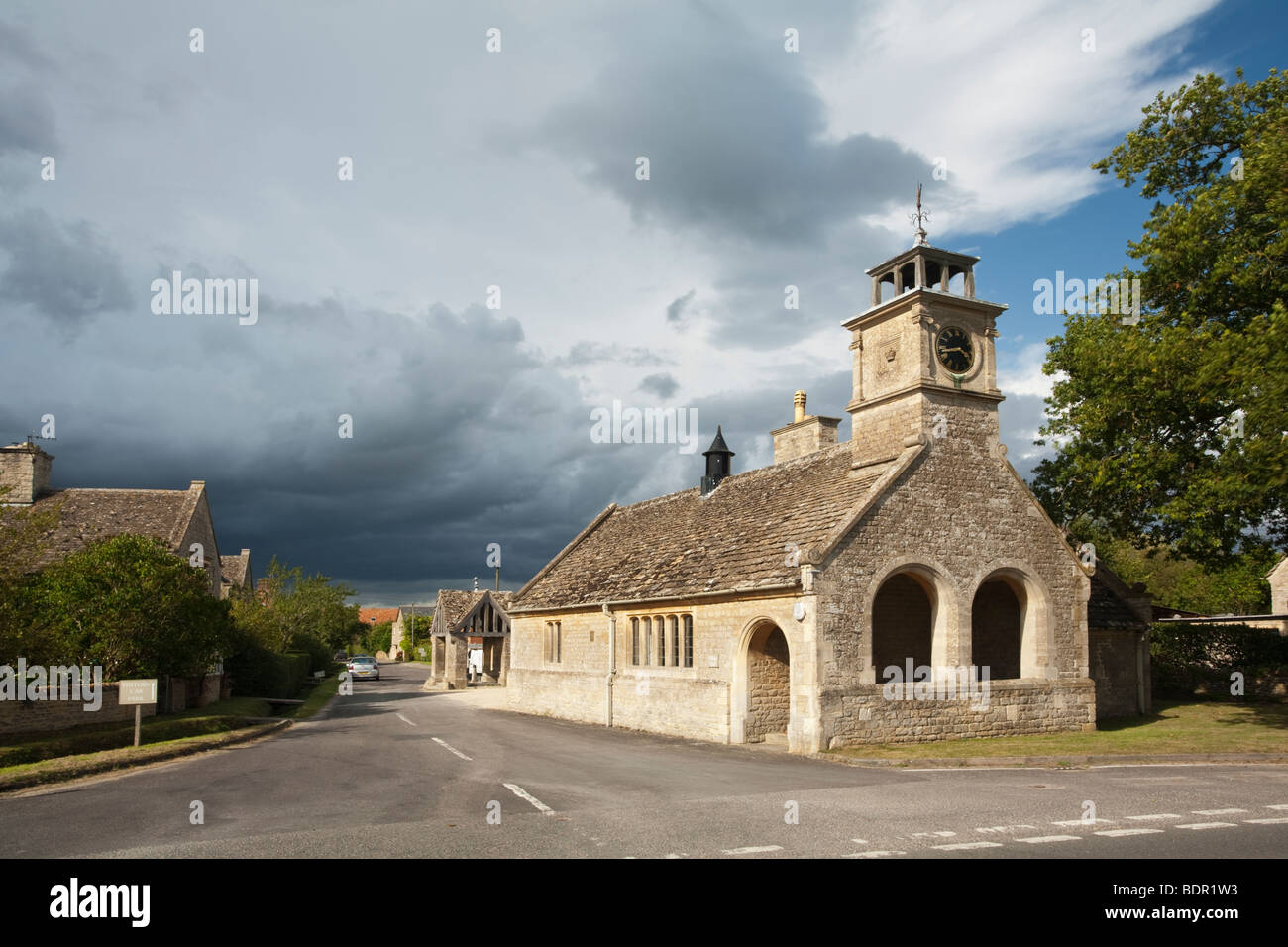 The Village Hall at Buscot in Oxfordshire, Uk - Stock Image