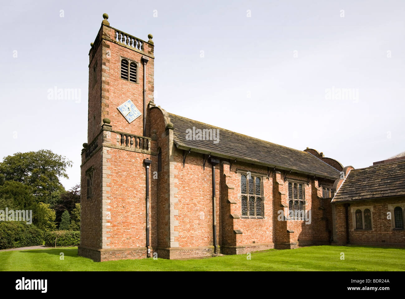UK, England, Cheshire, Knutsford, Tabley House, St Peters Chapel, 1675 - Stock Image