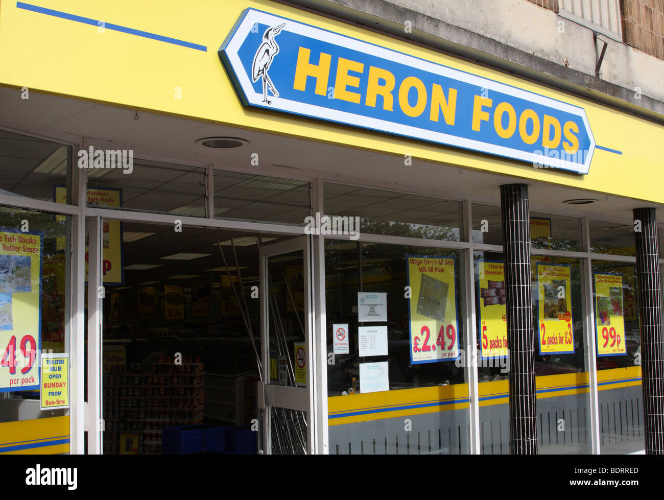 Heron Frozen Food Uk