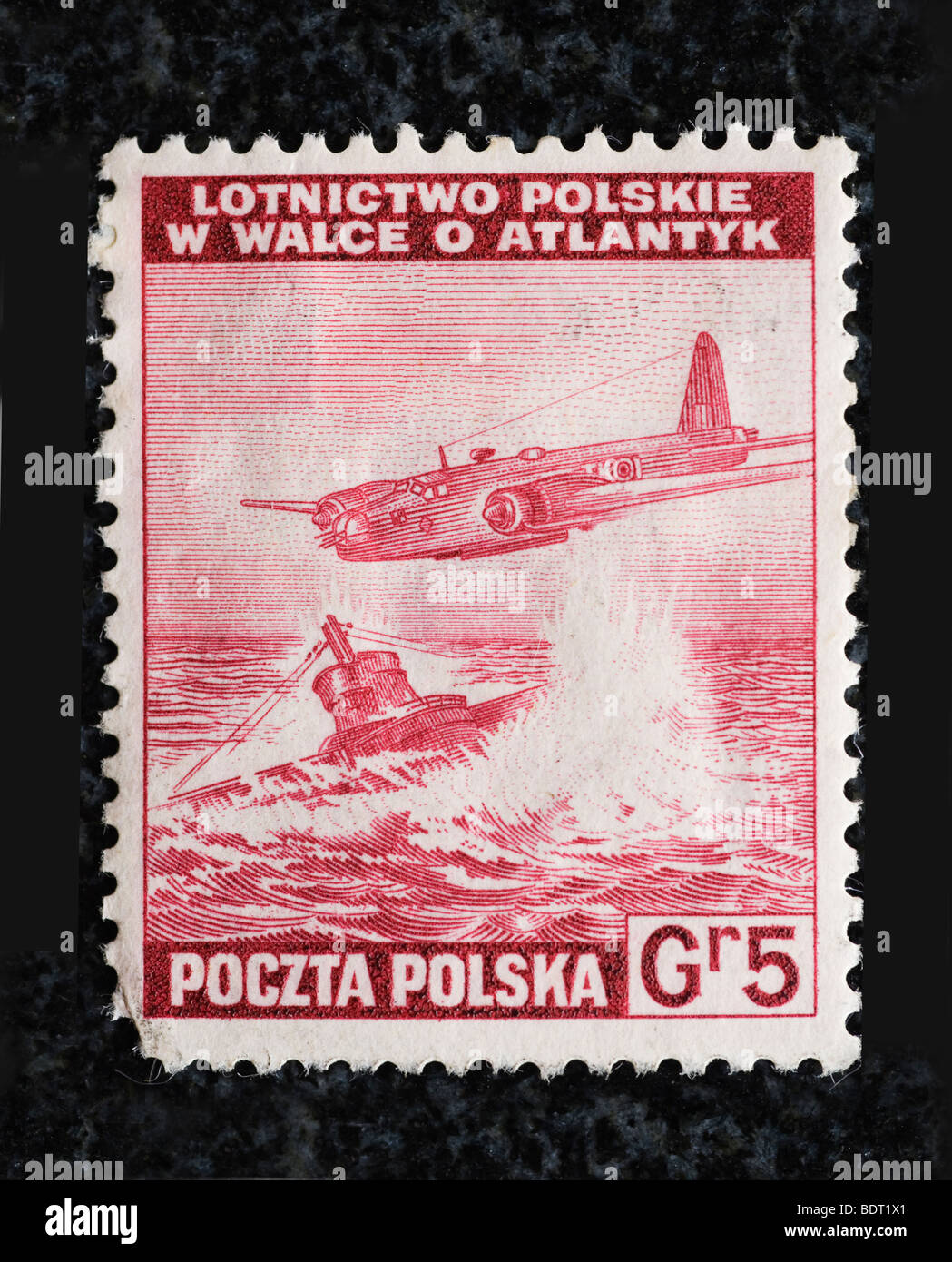 polish-air-force-postage-stamp-1940-BDT1