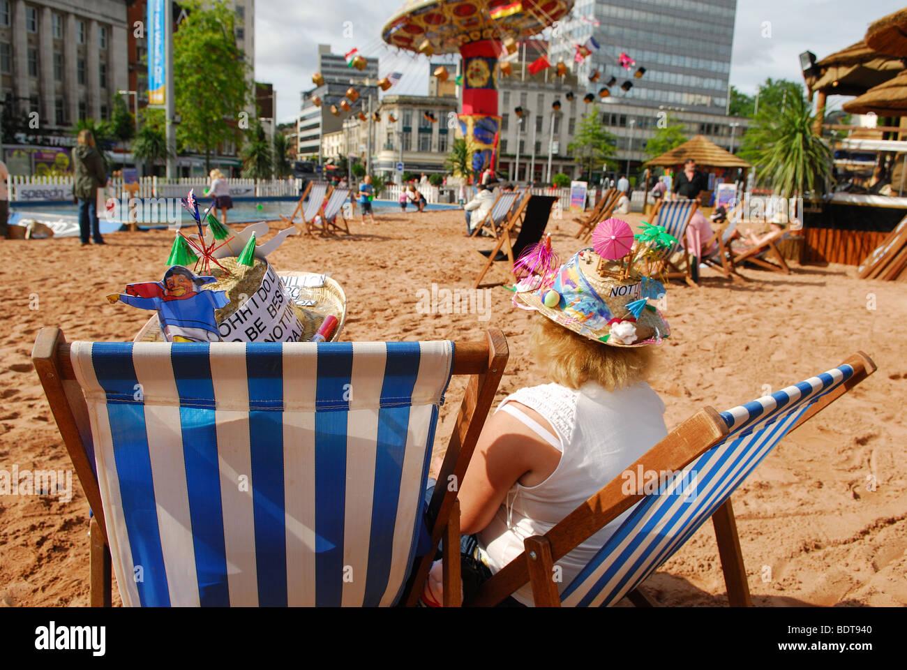 Nottingham Riviera. - Stock Image