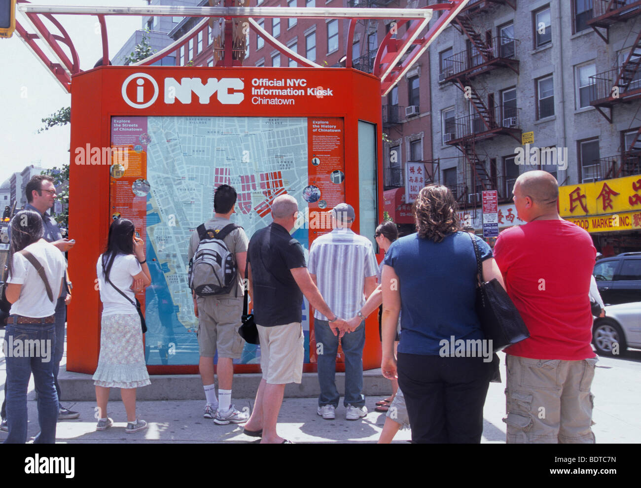 New York City Canal Street Chinatown City Map and Information Center ... 3eff094f5b829