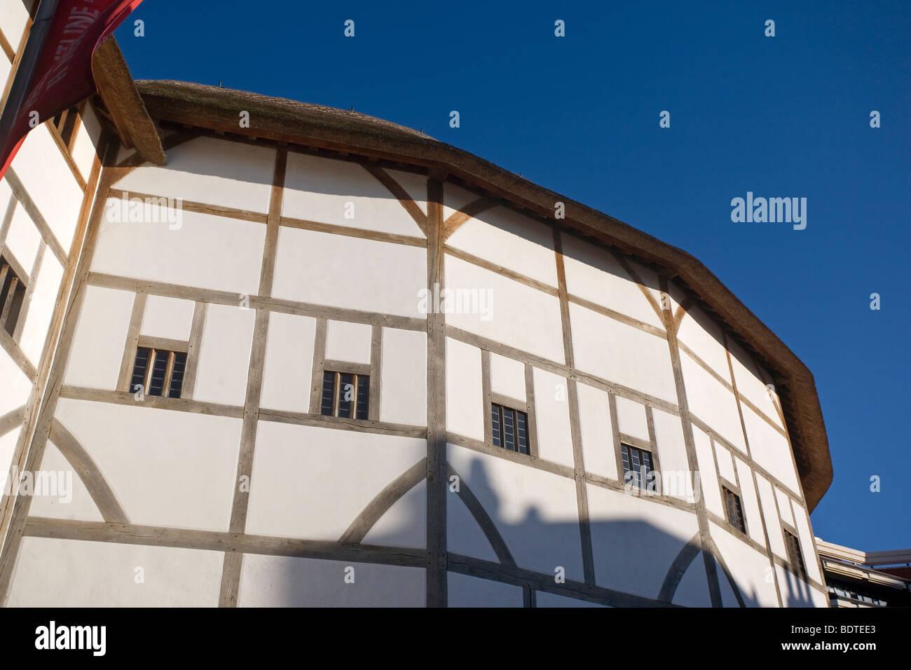 Globe Theatre, London, England, UK - Stock Image