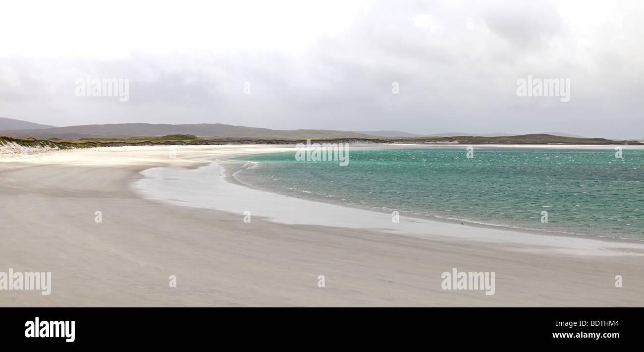 Isle of Berneray, Outer Hebrides, Scotland - Stock Image