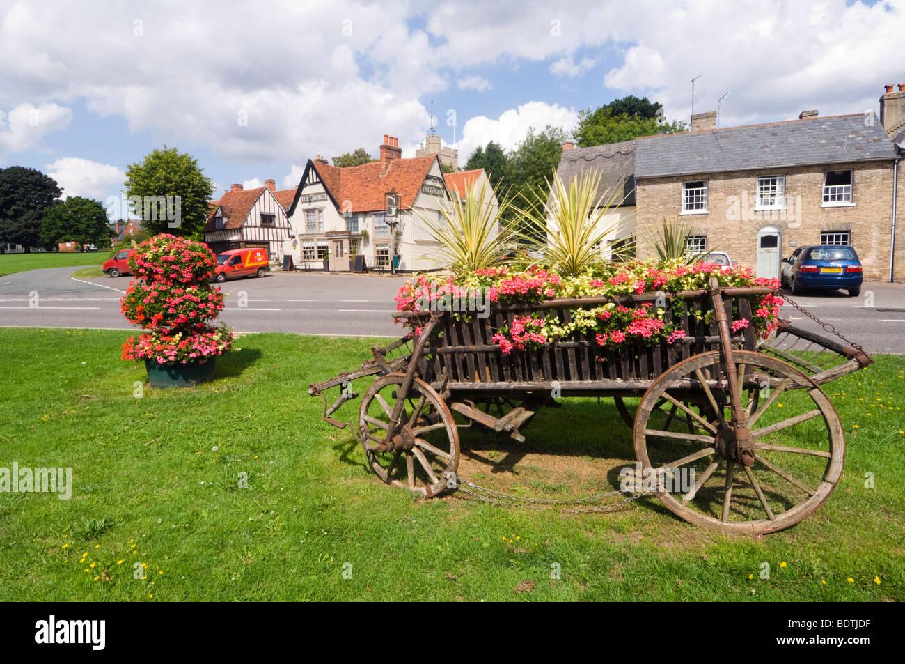 Cavendish Suffolk UK - Stock Image