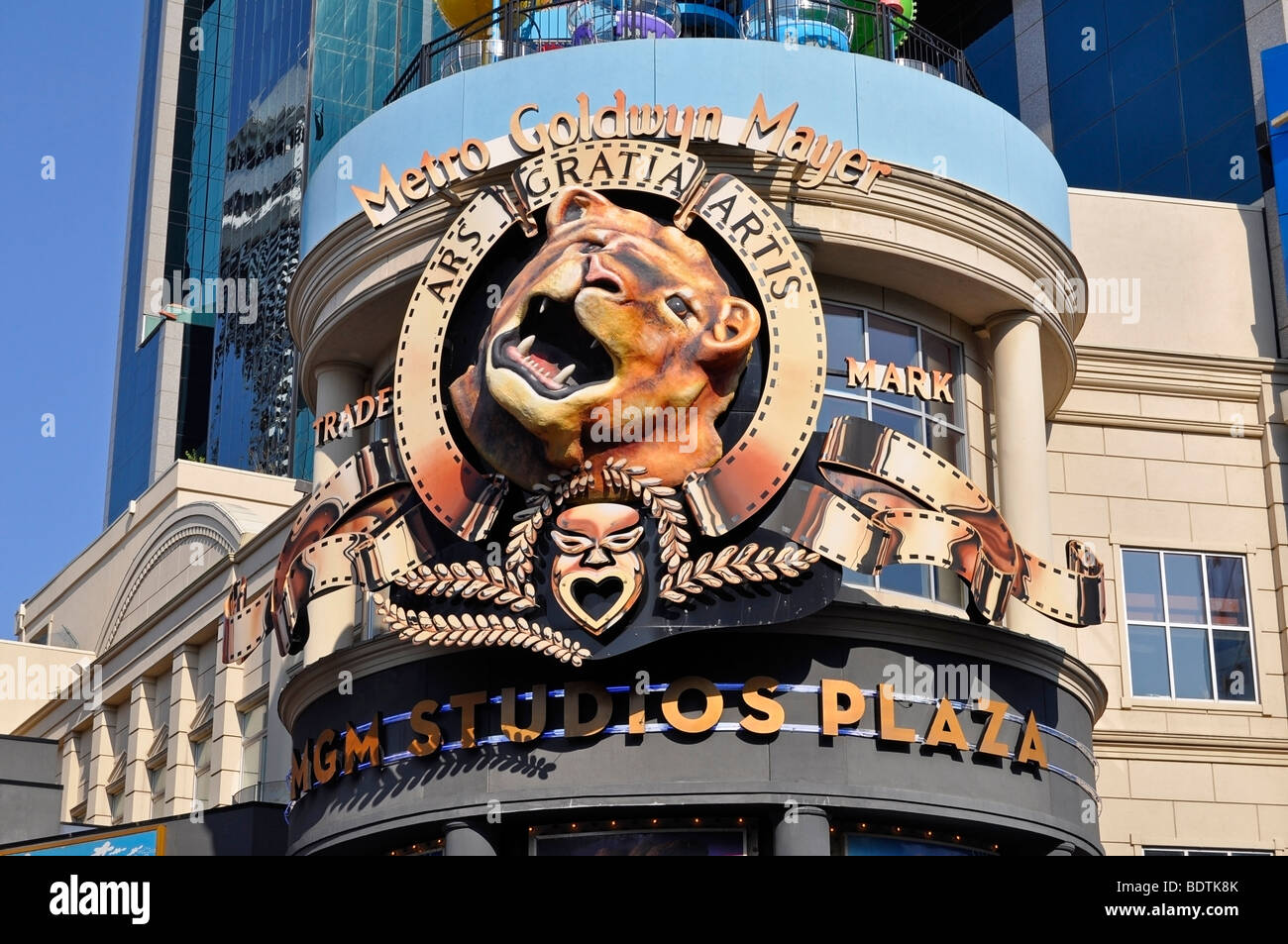 MGM Studios Official Retail Store - Attractions on Clifton Hill, Niagara, Canada - Stock Image