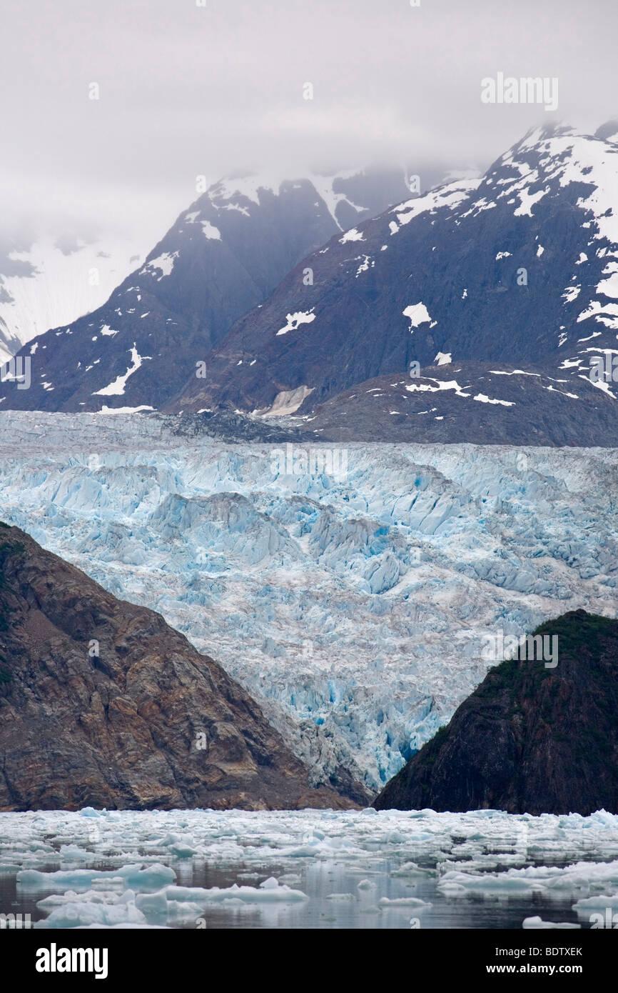 Sawyer-Gletscher - (Tracy Arm) / Sawyer-Glacier - (Tracy Arm) / Juneau - Alaska - Stock Image