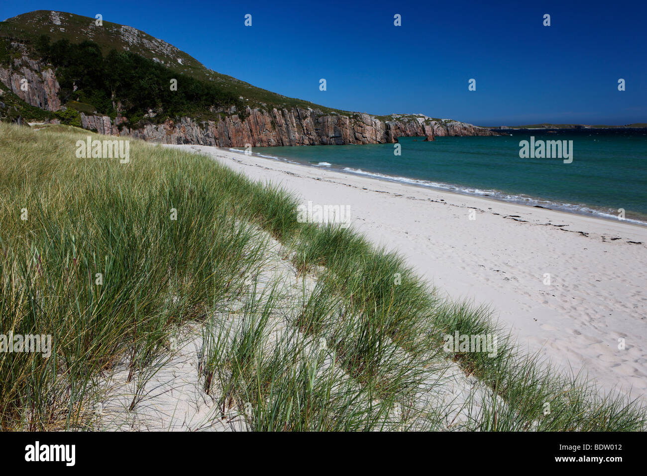 Beach near Durness, Sutherland, Northern Scotland - Stock Image