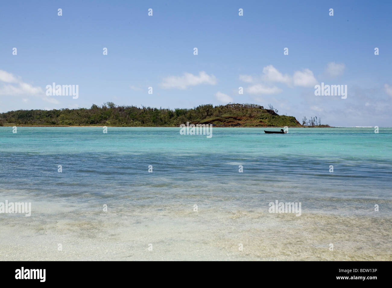 Strand von Nosy Nato, Madagaskar, Afrika, beach von Nosy, Madagascar, Africa - Stock Image