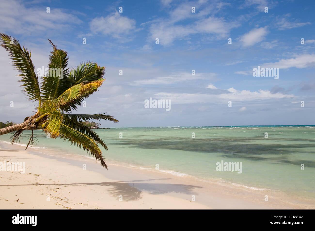 Strand von Nosy Nato, Madagaskar, Afrika, beach of Nosy, Madagascar, Africa - Stock Image