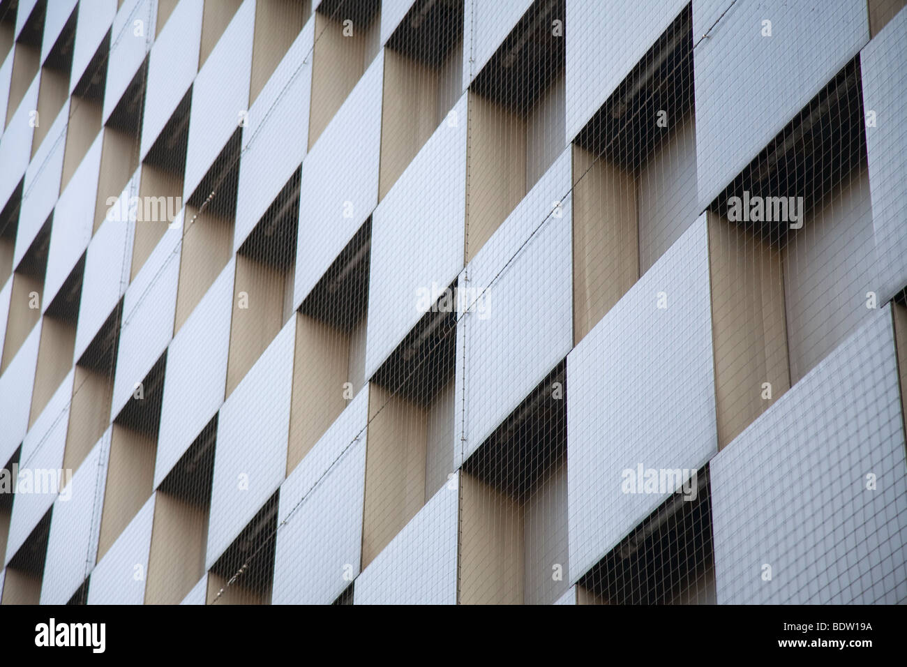 facade of business building, bavaria, germany Stock Photo