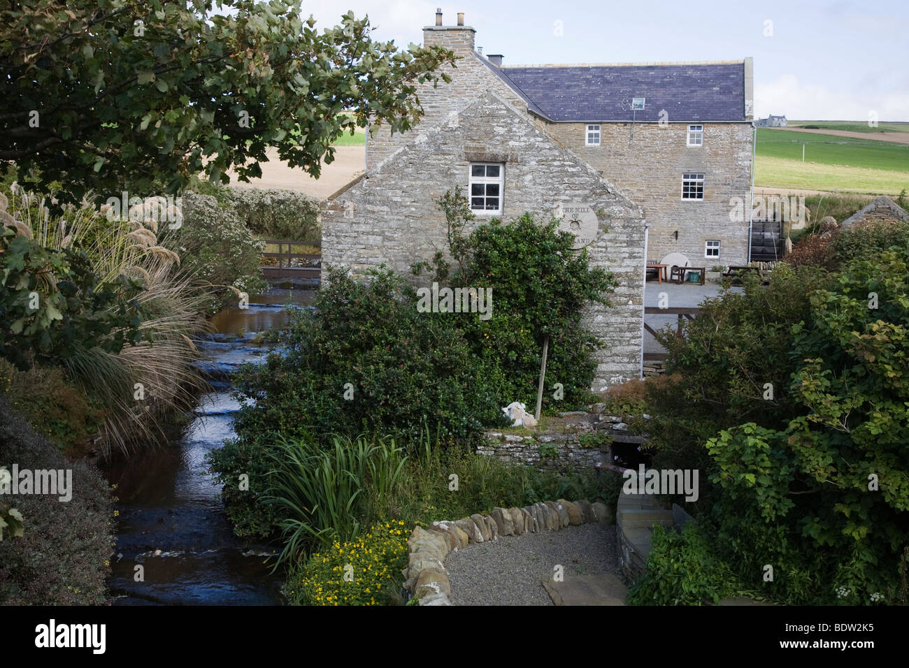 alte muehle, old mill, orkney islands, scotland - Stock Image