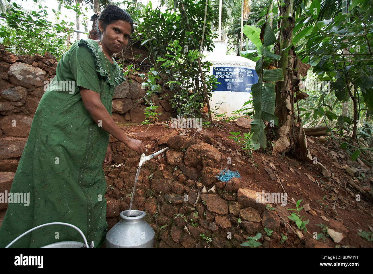 India Rainwater Harvesting Project In Villages Of