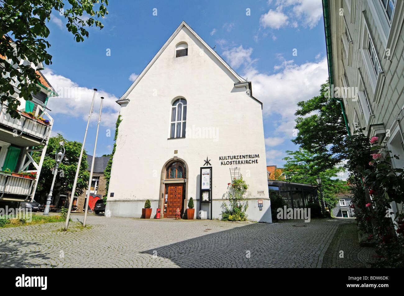 Klosterkirche monastery church, culture centre, Lennep, Remscheid, Bergisches Land area, North Rhine-Westphalia, - Stock Image
