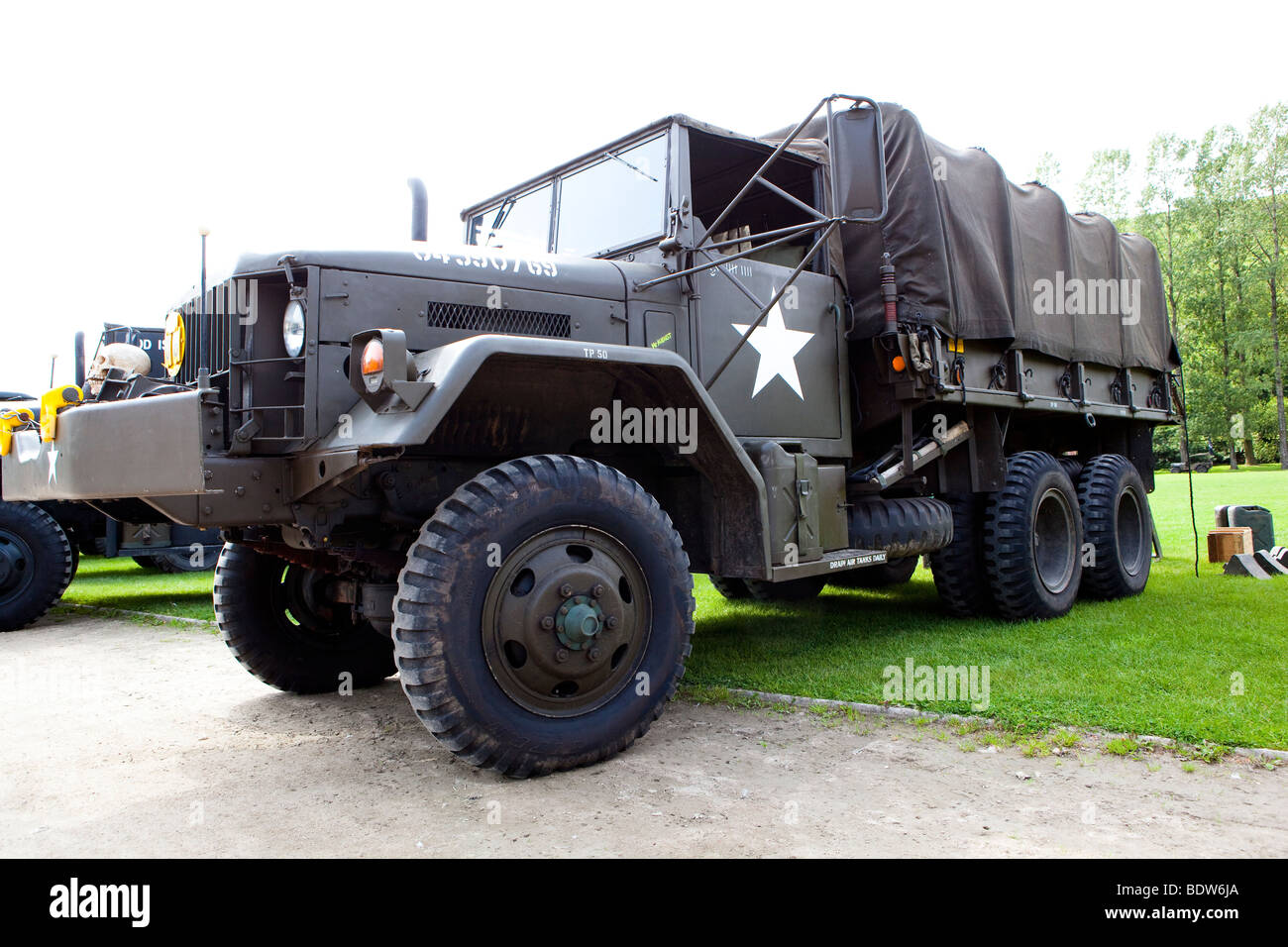 Chevrolet US army truck - Stock Image