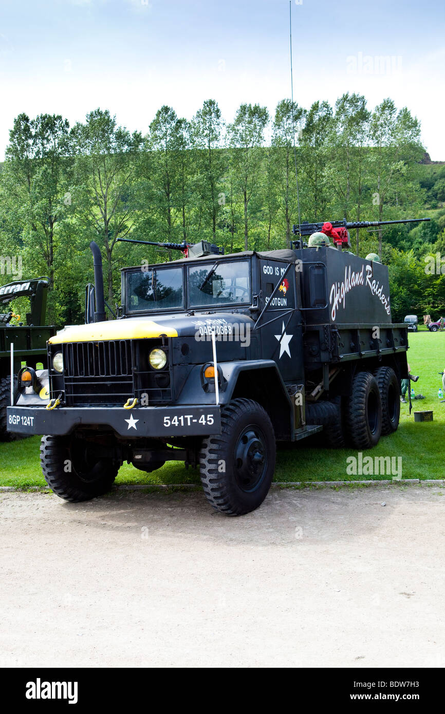 US army truck D Day - Stock Image