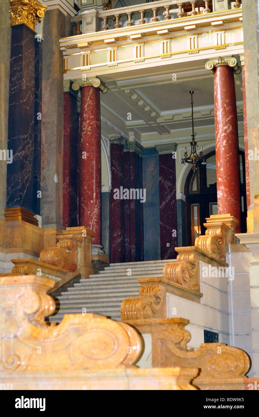 Eastern Europe, Hungary, Budapest, Museum of Ethnography - Stock Image