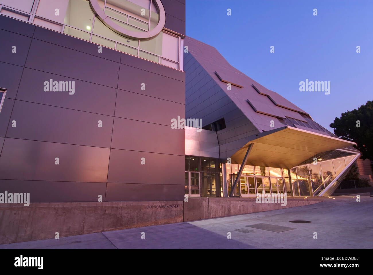 Visual and Performing Arts High School in Downtown Los Angeles - Stock Image