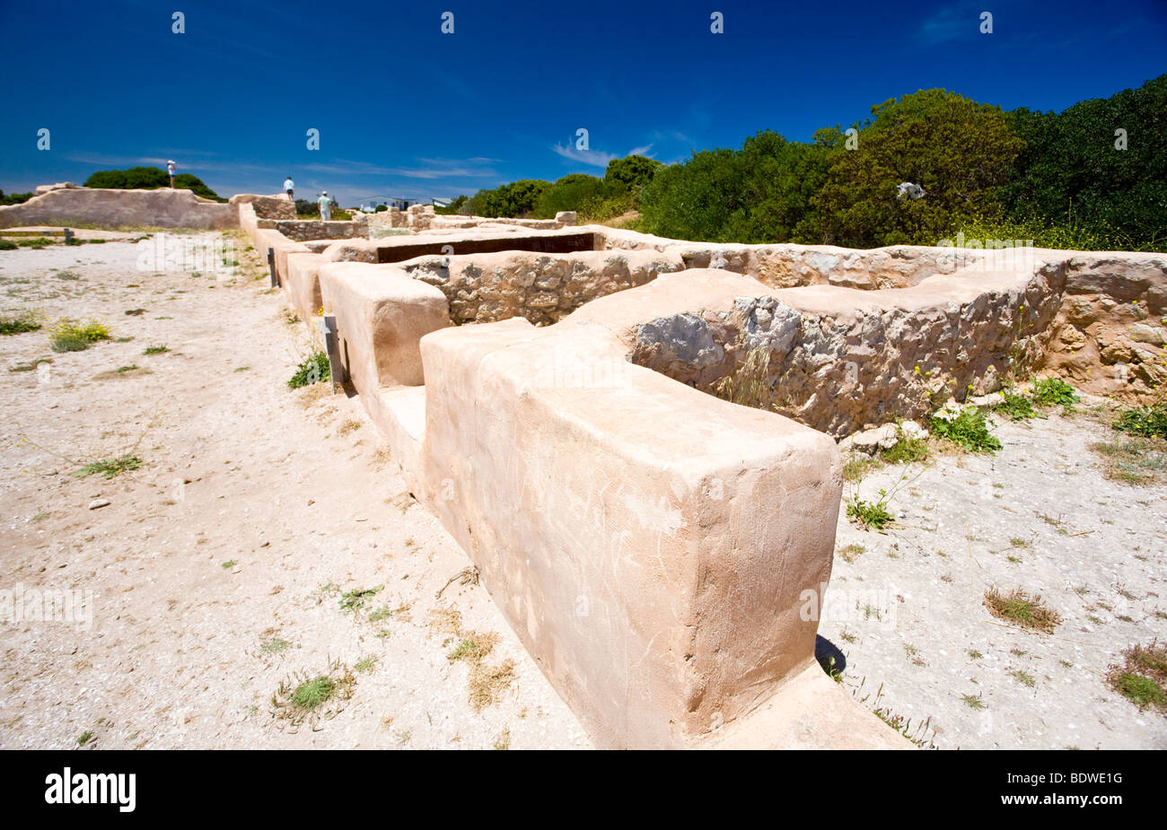 The Historic Robe Gaol, South Australia - Stock Image