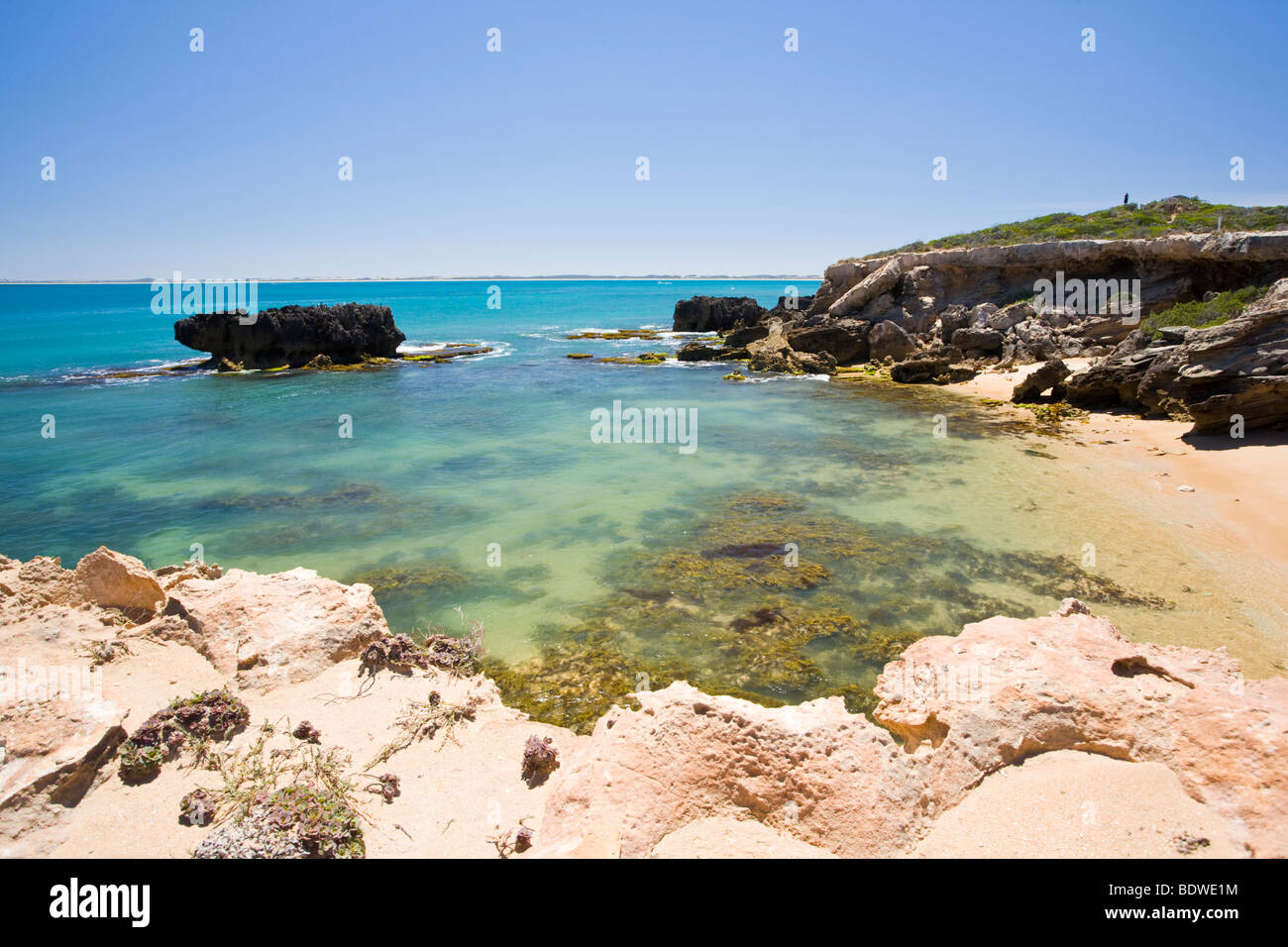 Small beach at Cape Dombey Robe South Australia - Stock Image