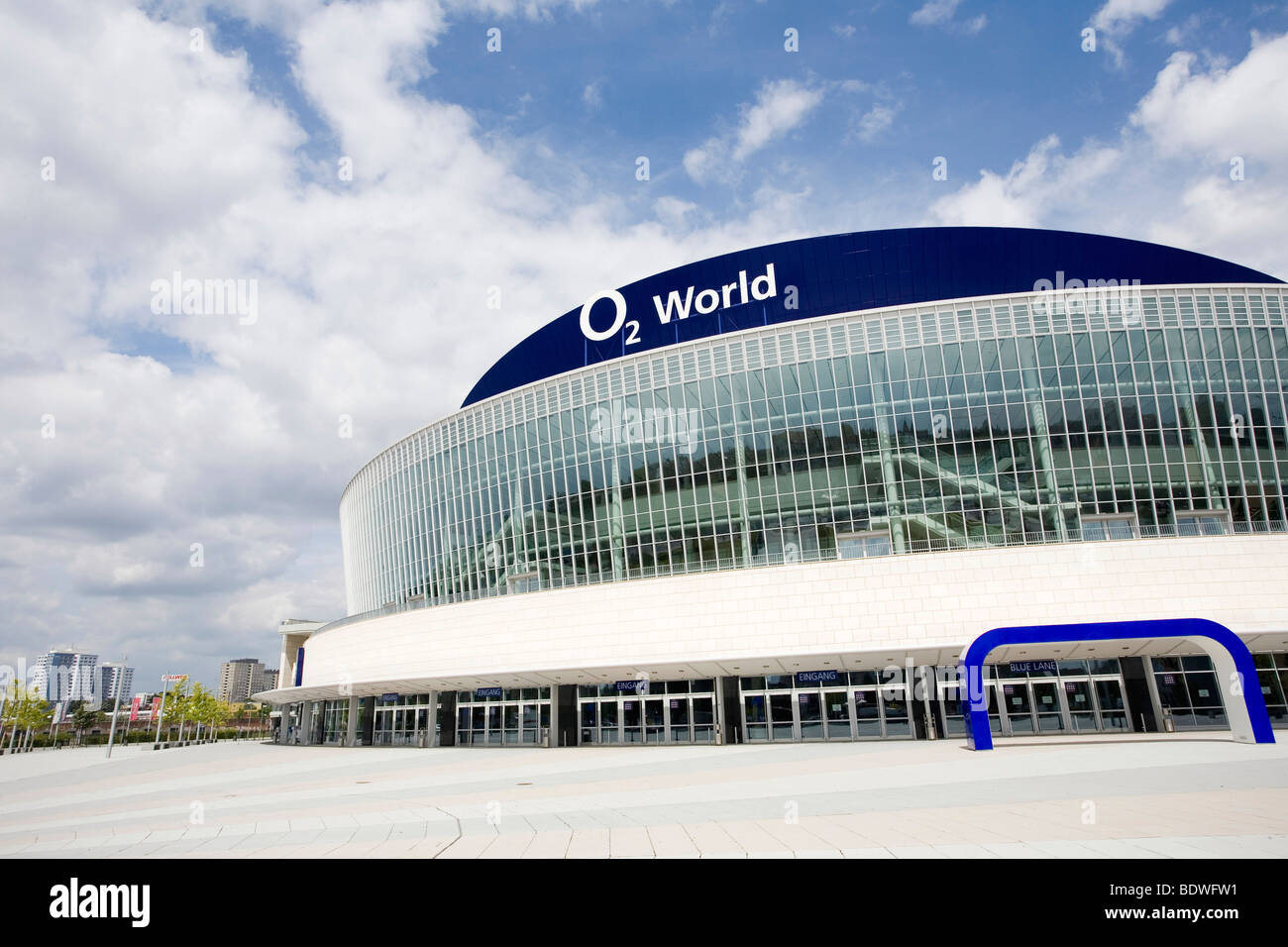 O2 World, O2 Arena, Berlin, Germany, Europe - Stock Image