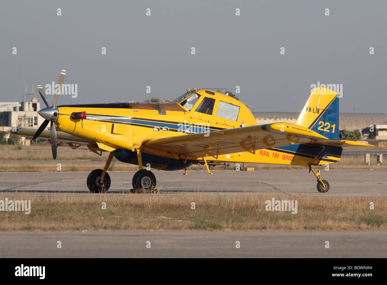 Air Tractor AT-802 firefighting aircraft - Stock Image