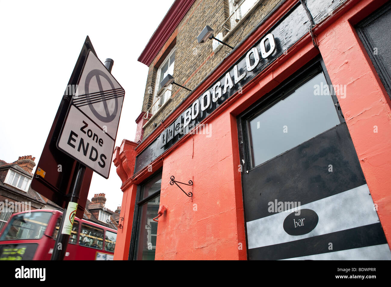 The Boogaloo pub, North London - Stock Image