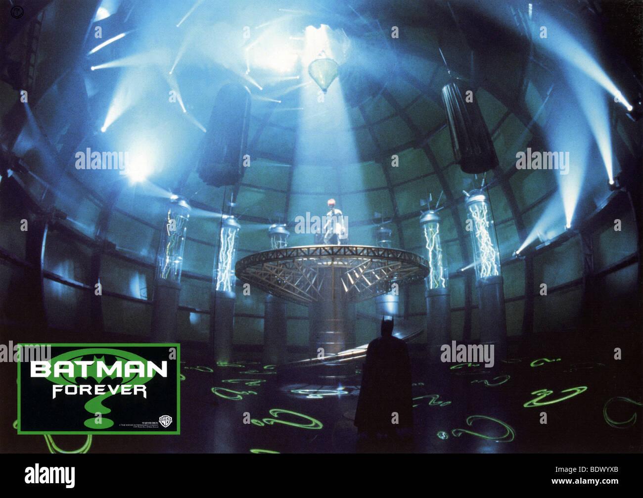 BATMAN FOREVER  - 1995 Warner film - Stock Image
