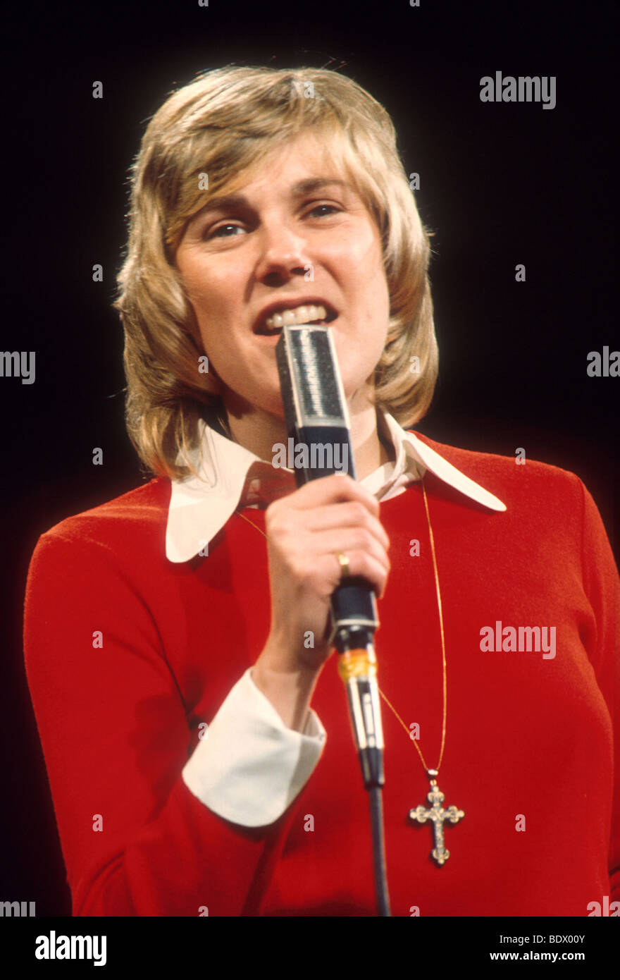 ANNE MURRAY - Canadioan singer about 1975 - Stock Image