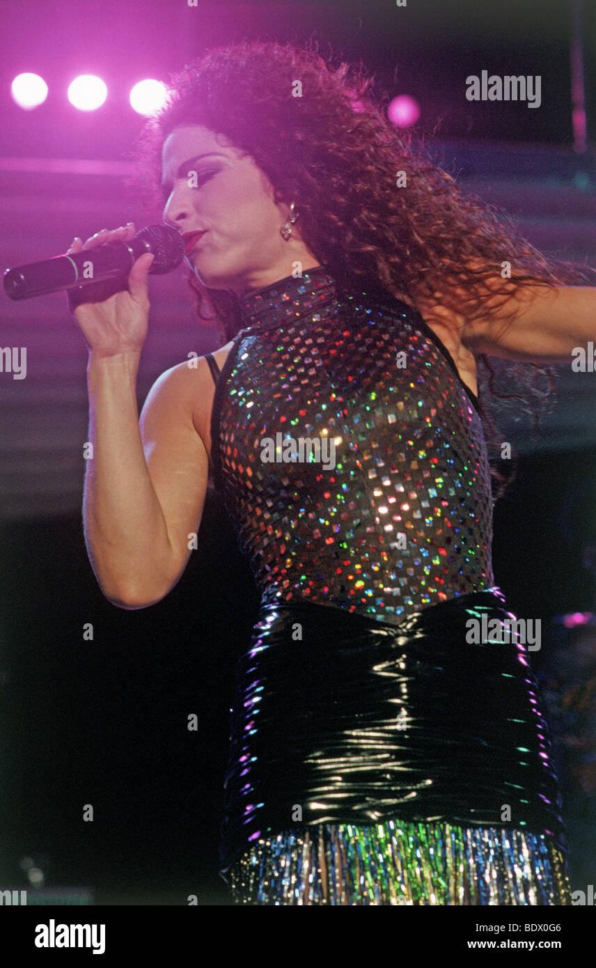 GLORIA ESTEFAN - US Latin American singer - Stock Image