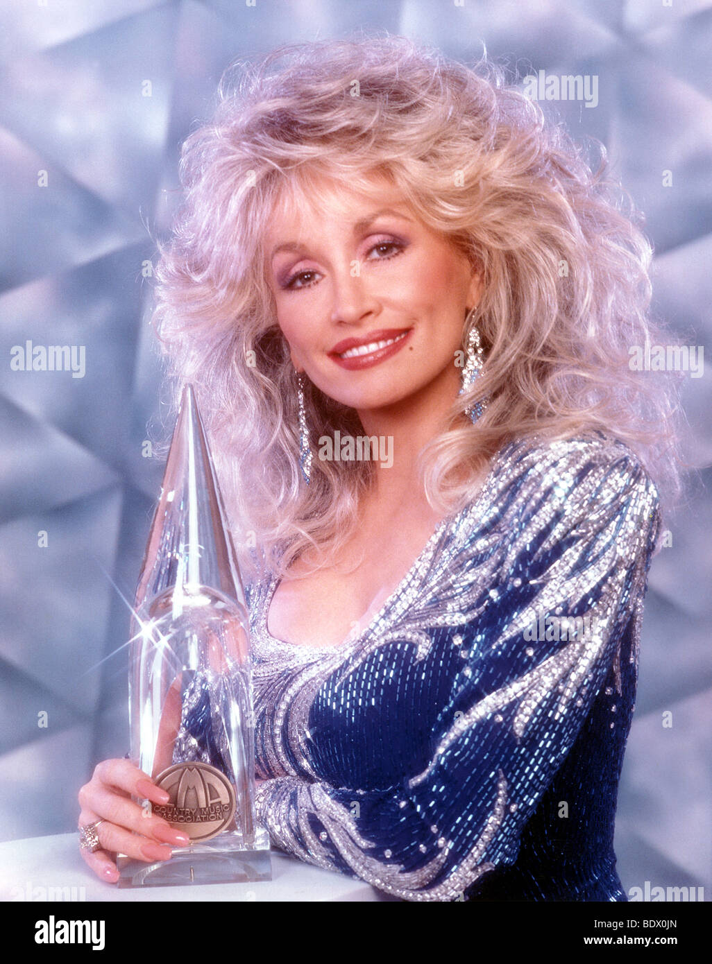 DOLLY PARTON - US Country and Western musician - Stock Image