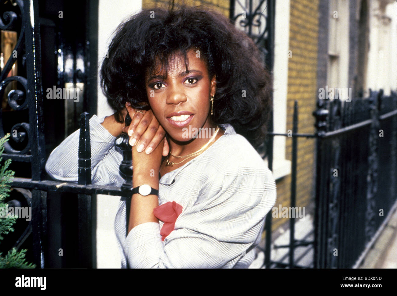 JAKI GRAHAM - UK pop singer in 1985 - Stock Image