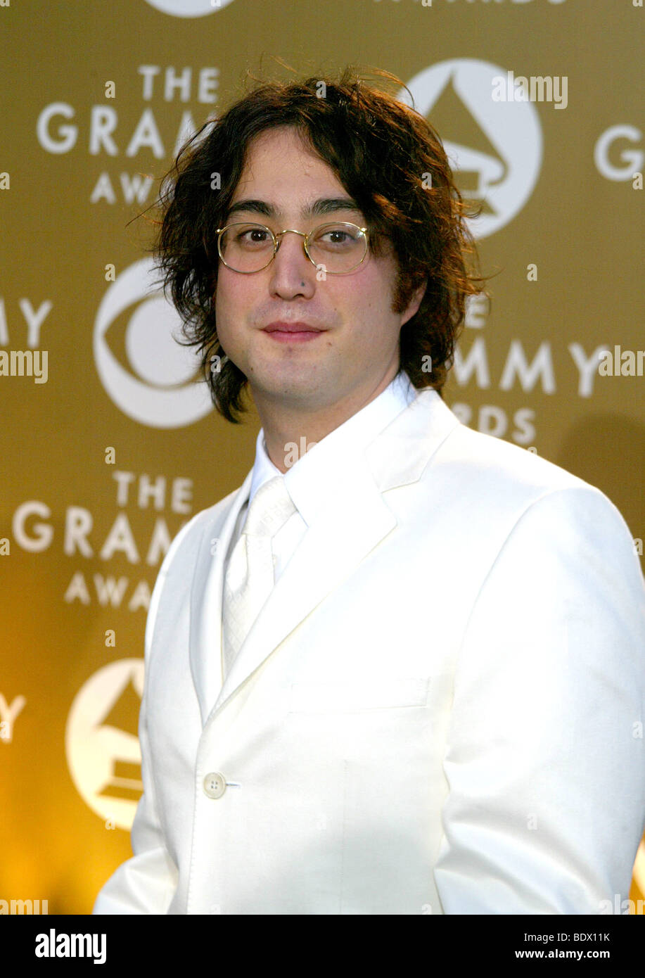 Sean Lennon Son Yoko Ono Stock Photos