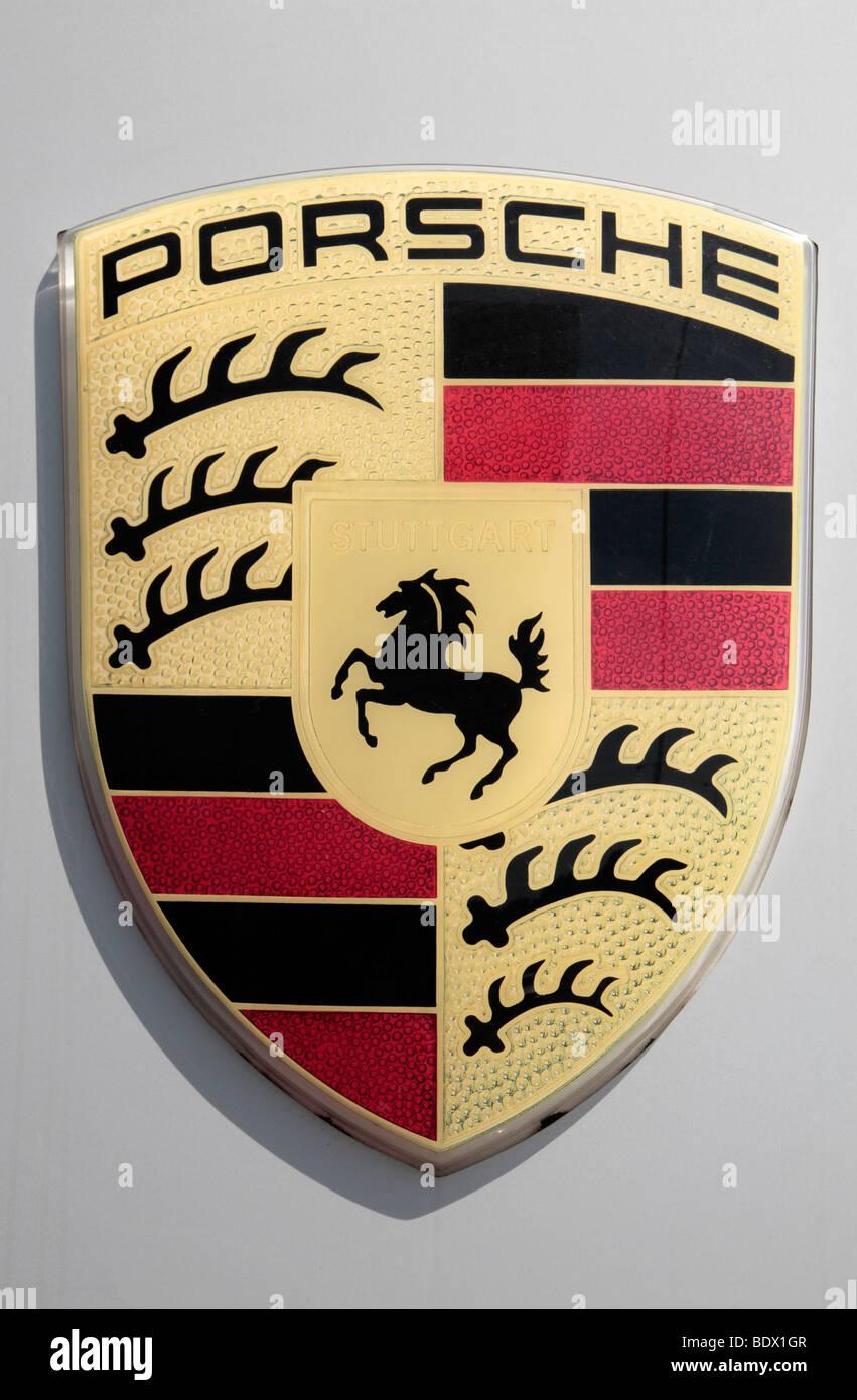 Porsche Logo Stock Photos Porsche Logo Stock Images Alamy