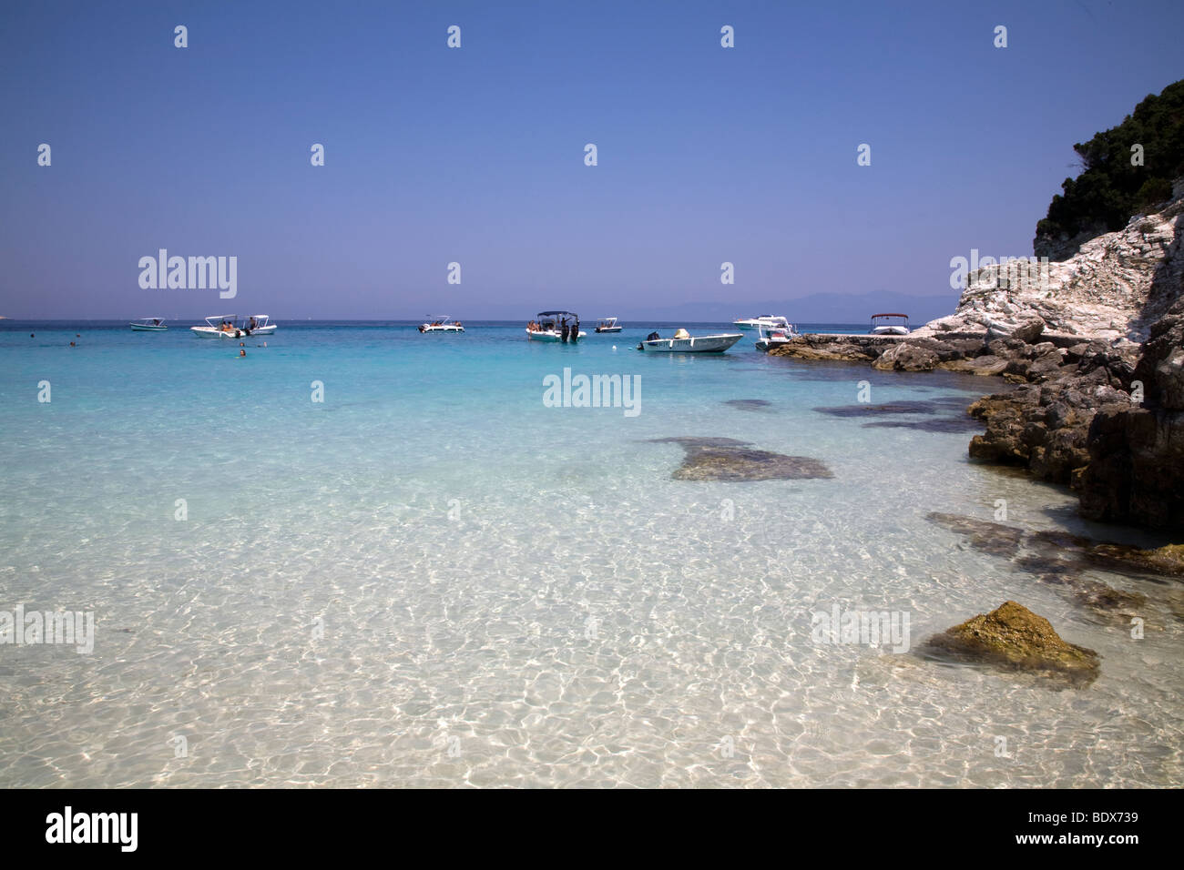 AntiPaxos. Greece. NO Property Release - Stock Image