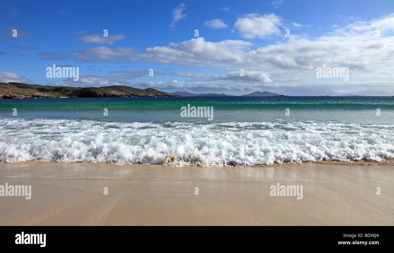 Husinish beach, Isle of Harris, Outer Hebrides, Scotland Stock Photo