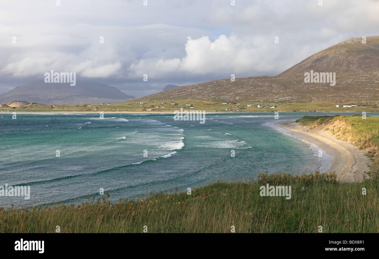 Seilebost, Isle of Harris, Outer Hebrides, Scotland - Stock Image