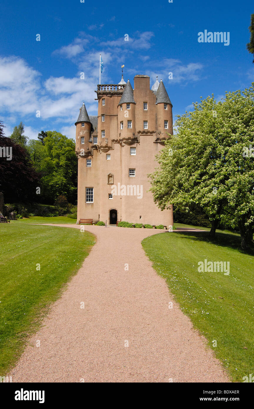 Craigievar Castle, Aberdeenshire, Scotland, UK - Stock Image