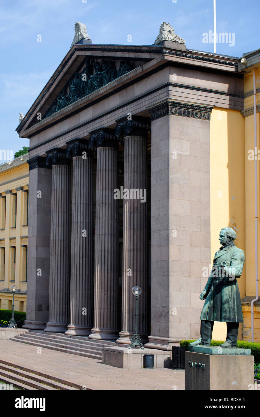 University of Oslo, Norway, Scandinavia, Europe Stock Photo