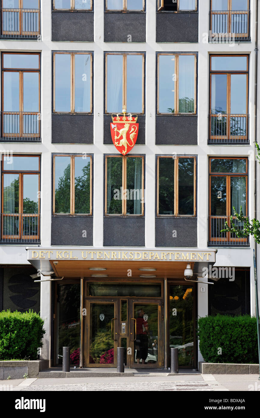 Ministry for Foreign Affairs, Oslo, Norway, Scandinavia, Europe - Stock Image