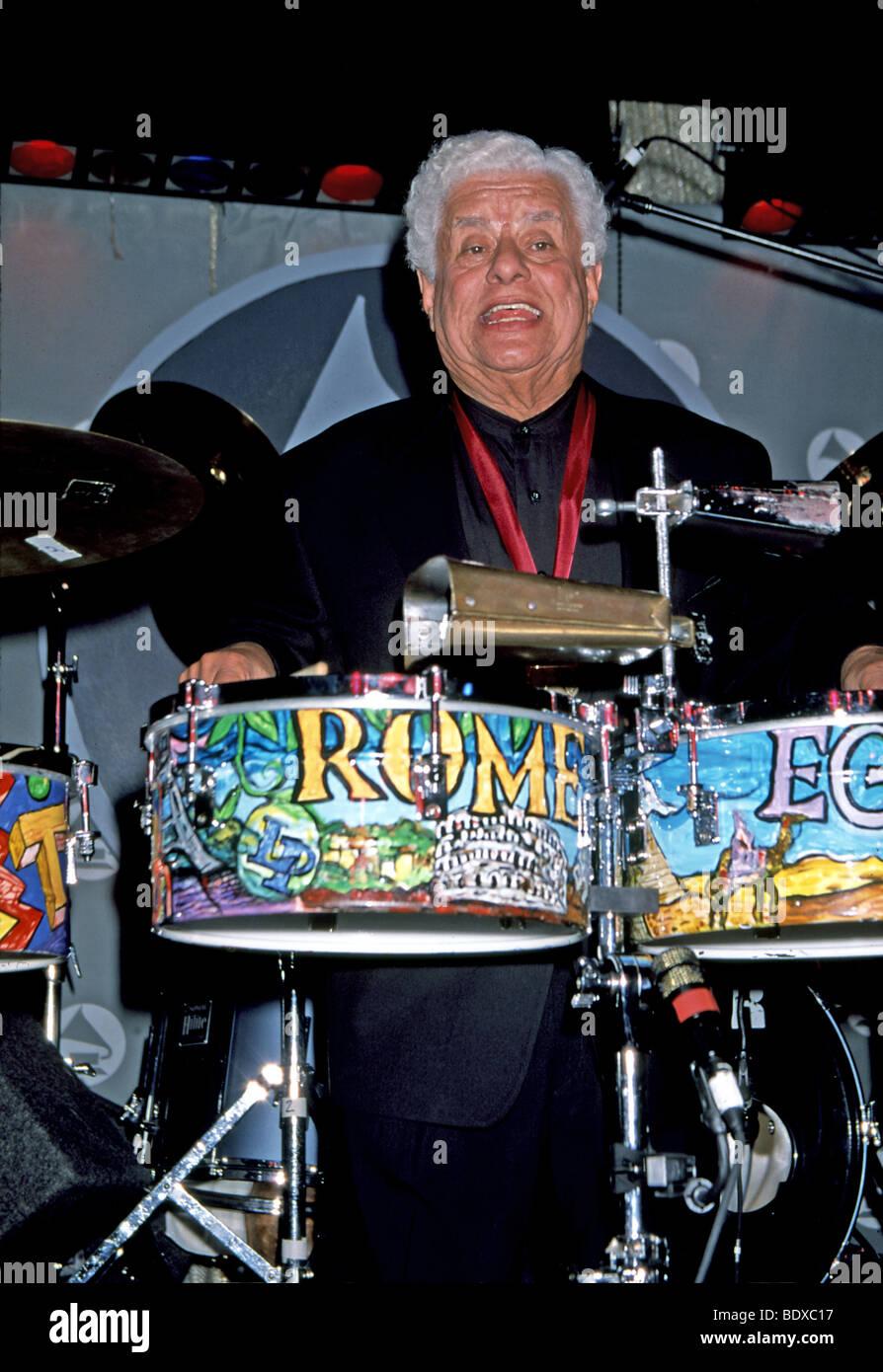 TITO PUENTE  - Latin American jazz musician in 1999 - Stock Image