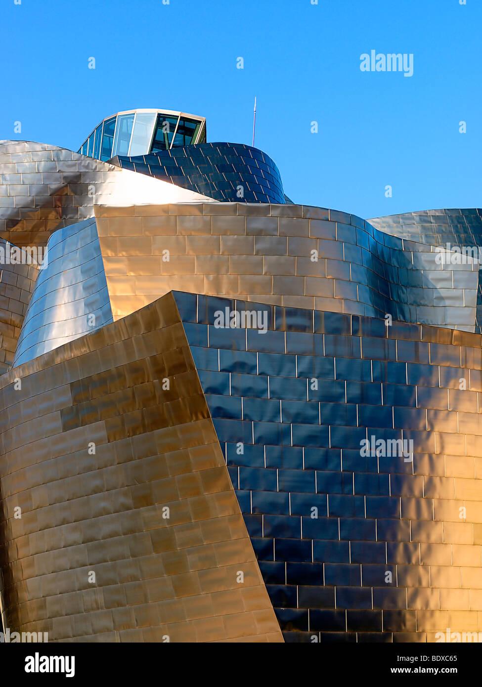 Guggenheim Museum, Bilbao, Spain. - Stock Image