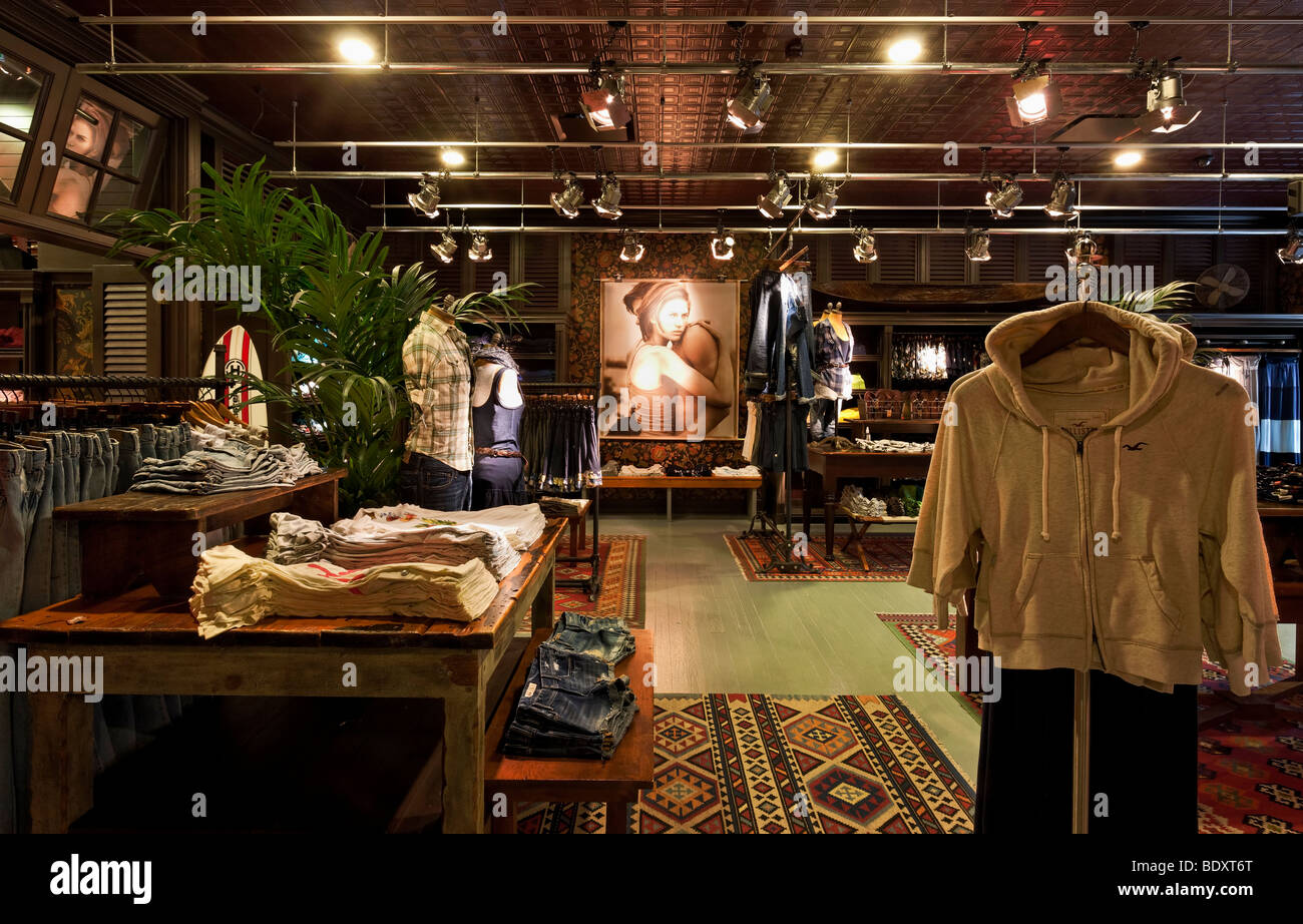 Hollister Store at the Westfield Shopping Centre in ...