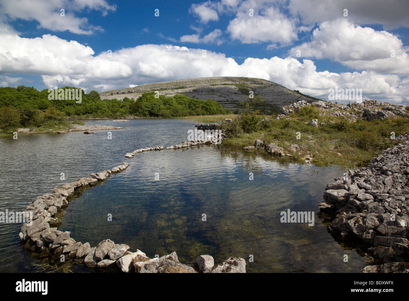 mullagh more; county clare; ireland - Stock Image