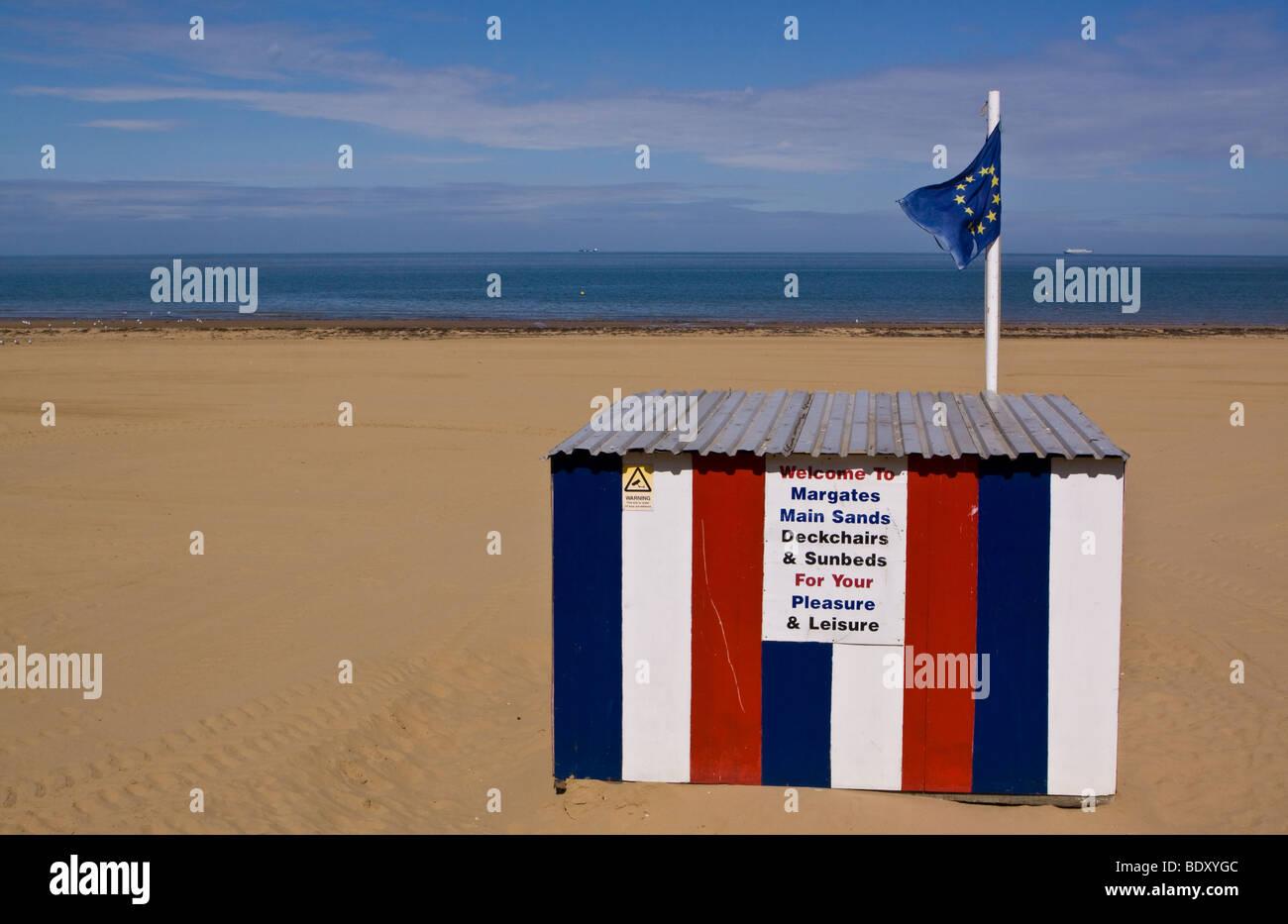Margate Beach - Stock Image