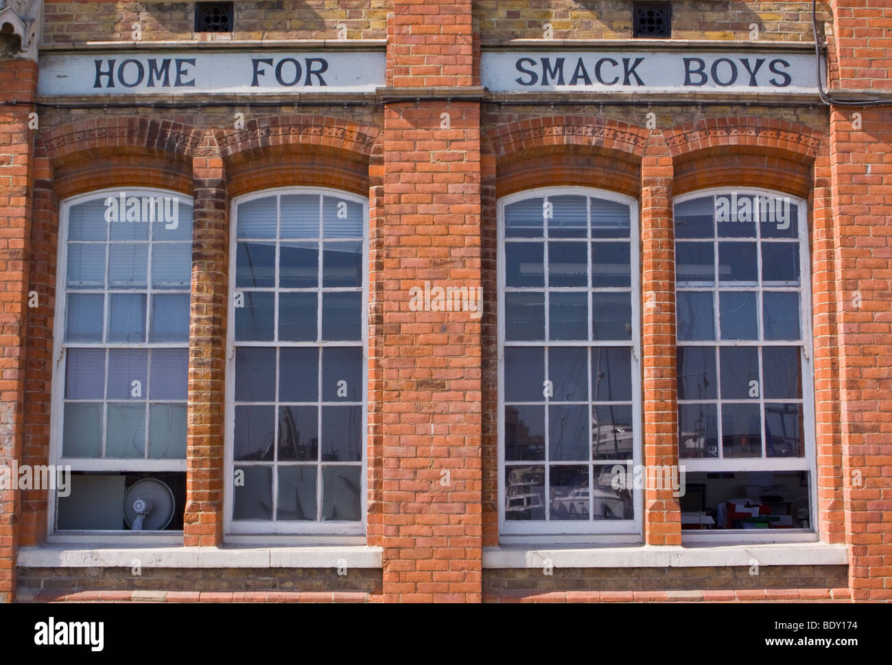 Home for Smack Boys Ramsgate Thanet Kent - Stock Image