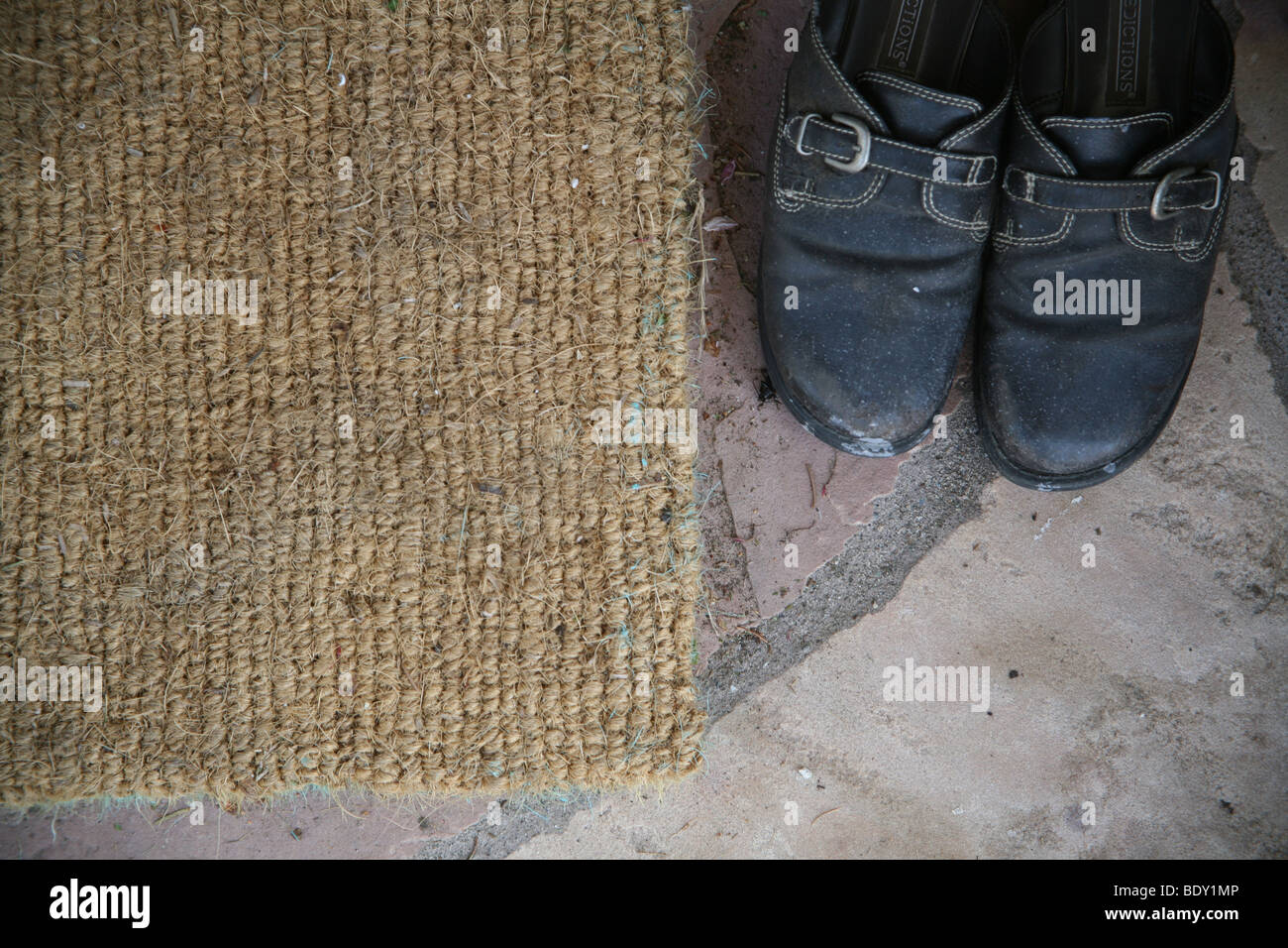 Doormat Shoes Stock Photos Amp Doormat Shoes Stock Images