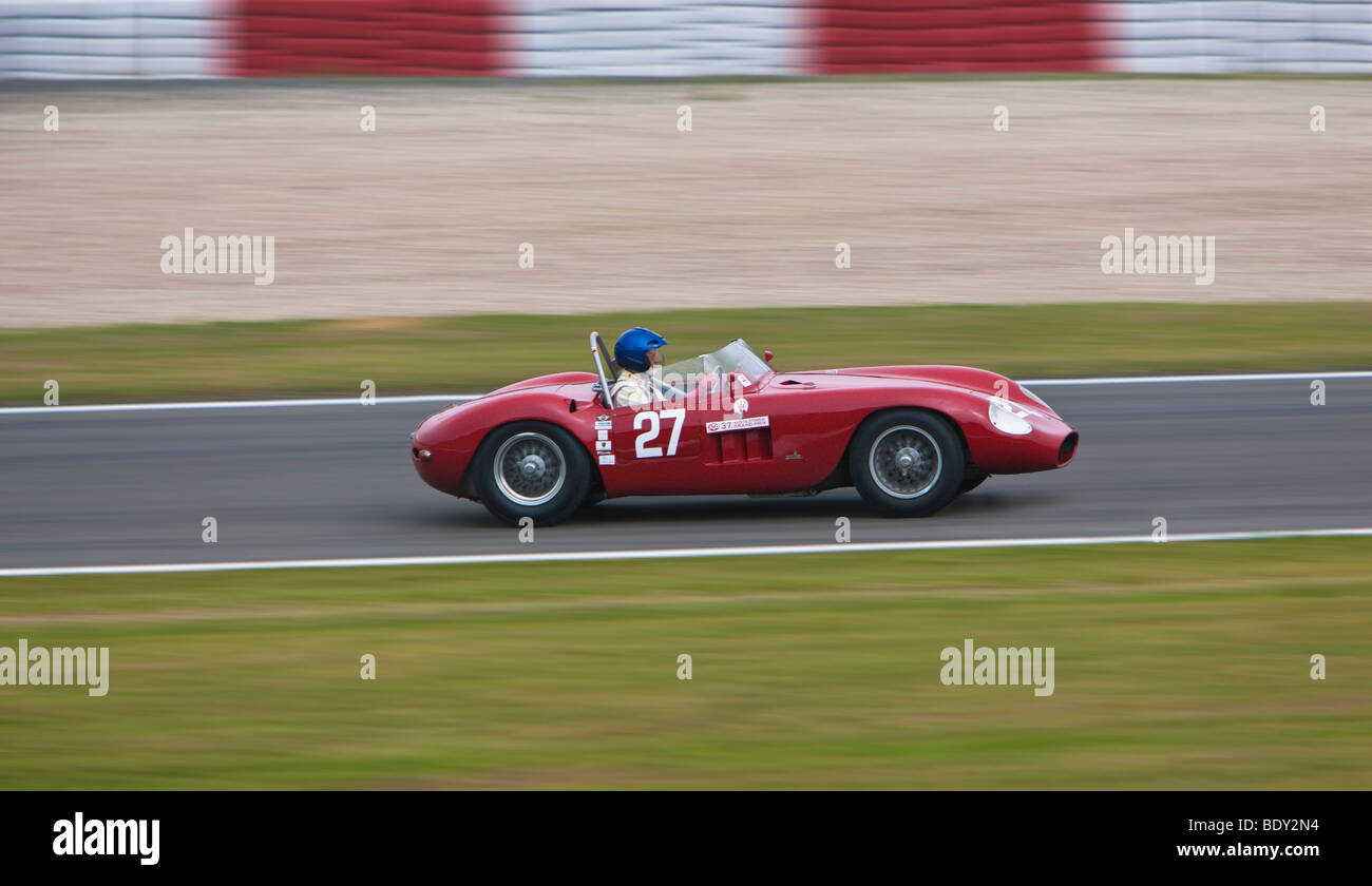 Vintage Grand Prix Car Stock Photos & Vintage Grand Prix Car Stock ...