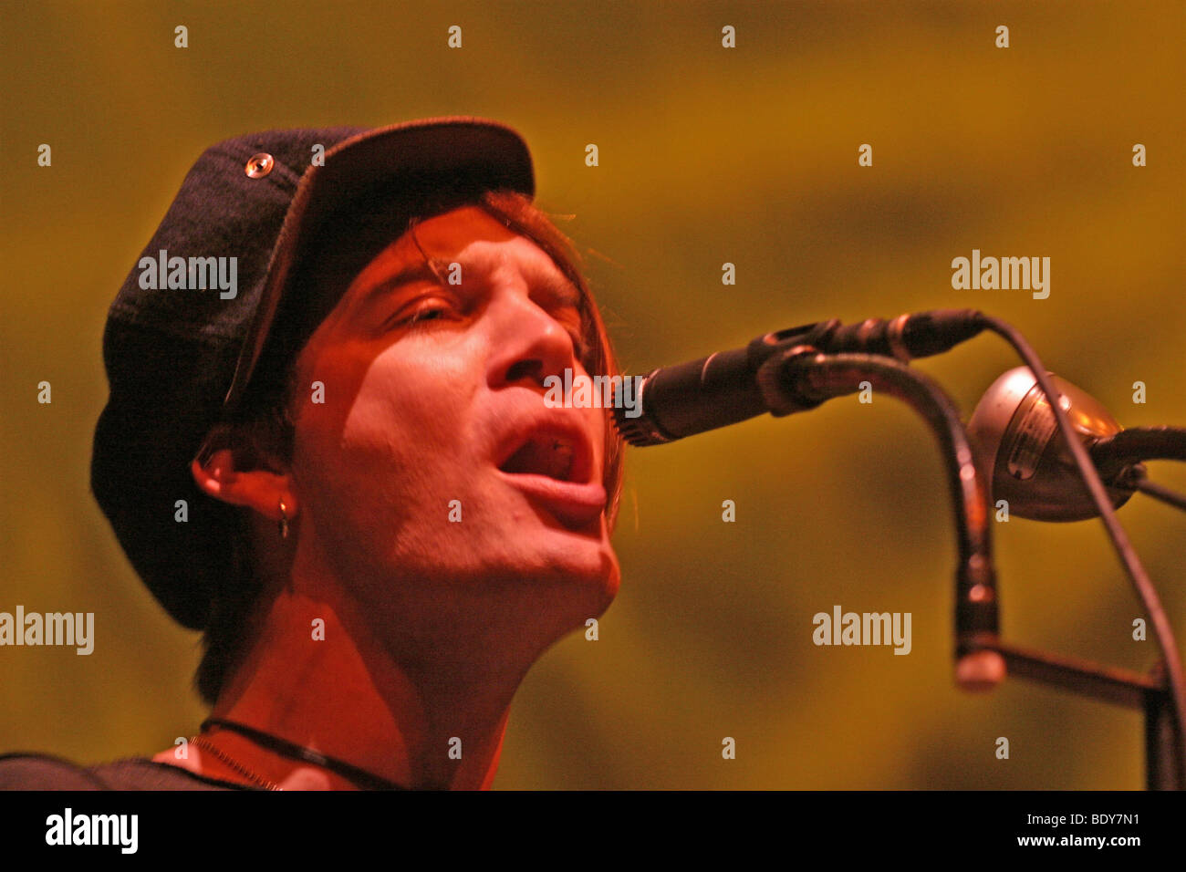 THE DANDY WARHOLS - US rock group with Courtney Taylor-Taylor - Stock Image