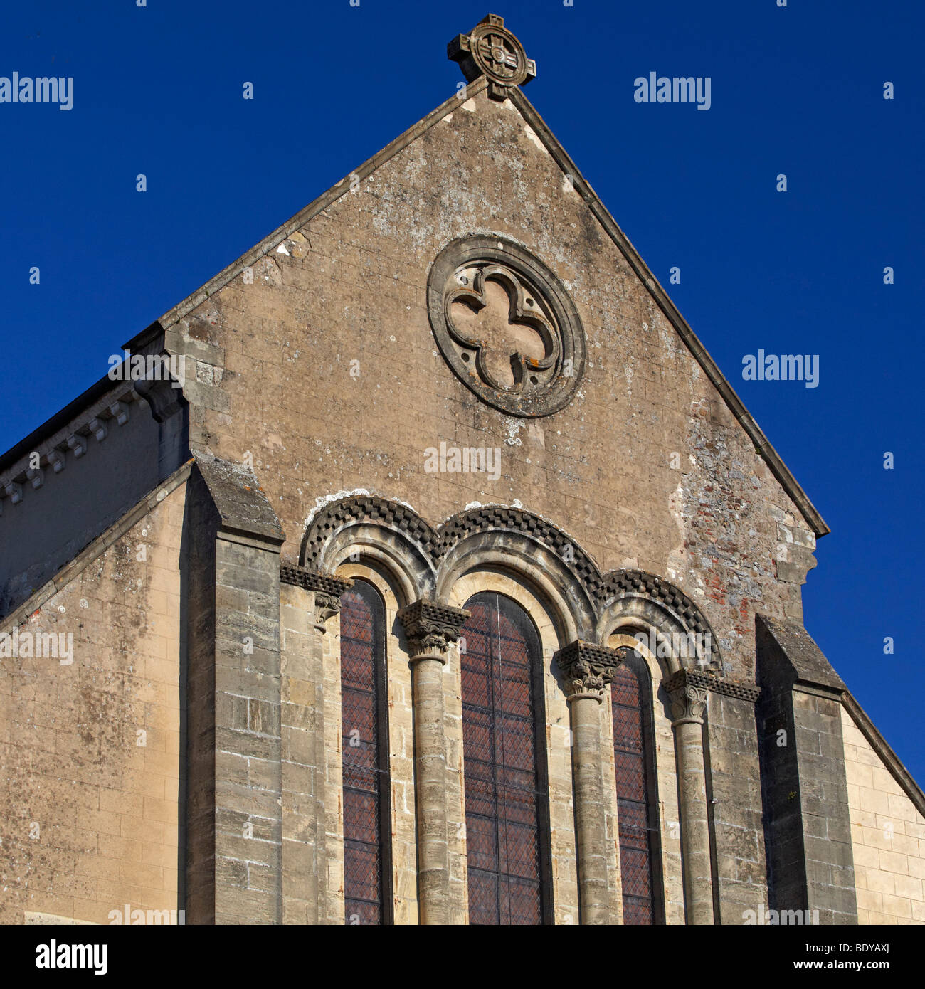 Abbaye Saint-Sever Saint-Sever, Landes, Aquitaine, South of France, France, Europe - Stock Image
